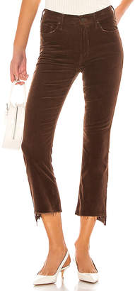 Mother The Insider Corduroy Crop Step Fray
