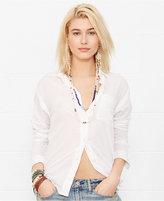 Denim & Supply Ralph Lauren Long-Sleeve Boyfriend Shirt