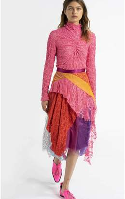 Sies Marjan Romy Lace Draped Full Skirt
