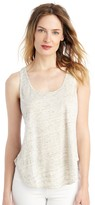 Sole Society Linen Scoop Tank