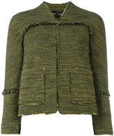 Proenza Schouler tweed jacket - women - Silk/Cotton/Acetate - 6