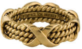 Tiffany & Co. Schlumberger Three-Row X Ring