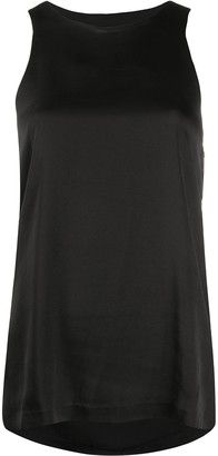 Low Classic Drape-Back Tank Top