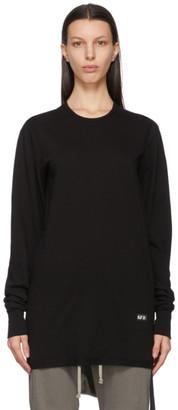 Rick Owens Black Level Long Sleeve T-Shirt