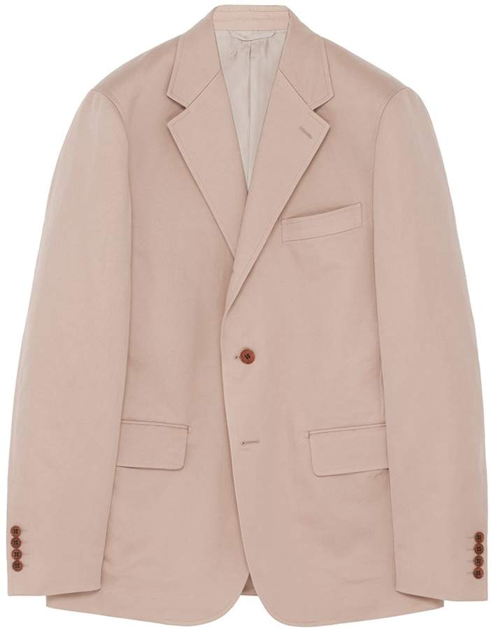 Camoshita Cotton-linen twill blazer