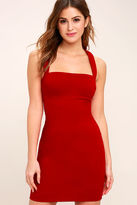 LuLu*s Play Time Red Bodycon Dress