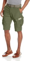 UNIONBAY Young Men's Lewis 13 Inch Long Cargo Belted Short