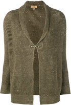 Fay sparkly button cardigan - women - Cotton/Linen/Flax - S