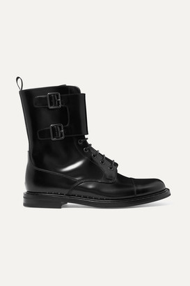 Church's Stefy Leather Ankle Boots - Black