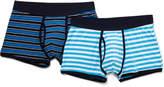 David Jones 2 Pack Stripe Trunk