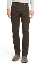 Bugatchi Men's Mini Check Five-Pocket Pants