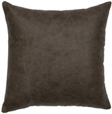 Wooded River Inc Luminaria Leather Pillow 16x16-Leather Back