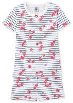 Petit Bateau Girls printed short pajamas