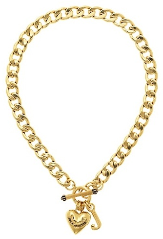 Juicy Couture Gold Starter Necklace