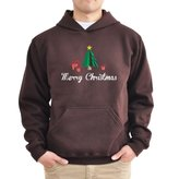 Eddany Merry Christmas Gifts and Tree Hoodie