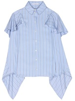 J.W.Anderson Striped Silk Shirt