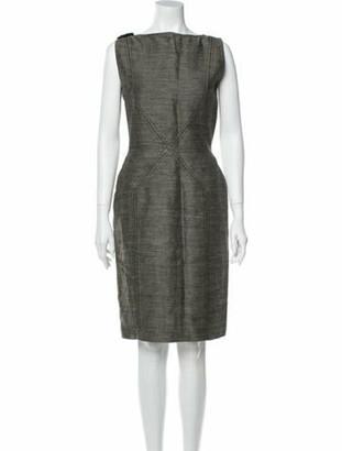 Oscar de la Renta Vintage Knee-Length Dress