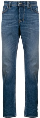 Diesel Larkee-Beex mid-rise tapered jeans