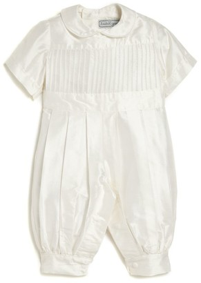 Isabel Garreton Baby Boy's Tucker Pleated Christening Coverall
