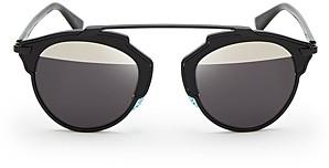 Christian Dior Women's So Real Split Lens Mirrored Sunglasses, 48mm