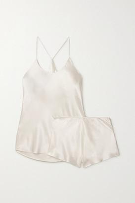 Olivia von Halle Bella Silk-satin Pajama Set - Ivory