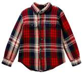 Tailor Vintage Reversible Flannel Jacket (Toddler & Little Boys)