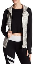 Betsey Johnson Quilted Hybrid Jacket
