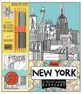 Bendon Adult Coloring Book Kit - New York