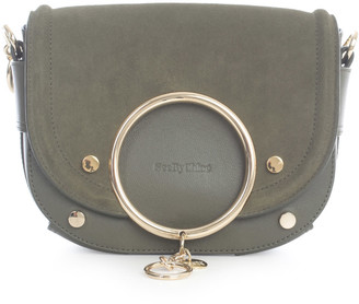 See by Chloe Suede Cowhide Leather Small Grain On Co