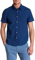 Joe's Jeans Slim Fit Two-Tone Button-Down Shirt