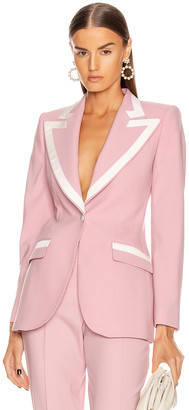 Dolce & Gabbana Tailored Blazer in Light Powder Rose | FWRD