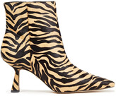Thumbnail for your product : Sam Edelman Samantha Tiger-print Calf-hair Ankle Boots