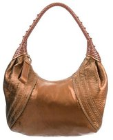 Fendi Fortuny Leather Spy Hobo