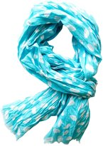 See Design Candy Cotton Scarf - Aqua