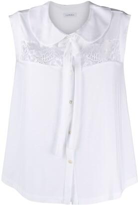 La Perla Floral Lace-Detailed Pyjama Set