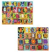 Melissa & Doug Chunky Puzzle Set