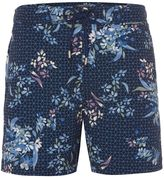 Linea Men's Geo Floral Print Swim Short