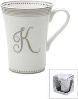 Mikasa Gift Mugs Monogram K Mug