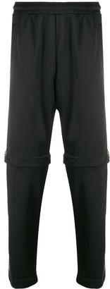 Fendi Logo-Stripe Detachable-Leg Trousers