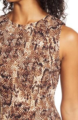 Donna Ricco Sleevless Fit & Flare Dress