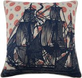 Thomas Paul Ship Vyard Pillow, 22-Inch, Cherry