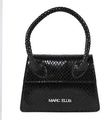 Marc Ellis Flossie Handbag In Lizard-effect Leather