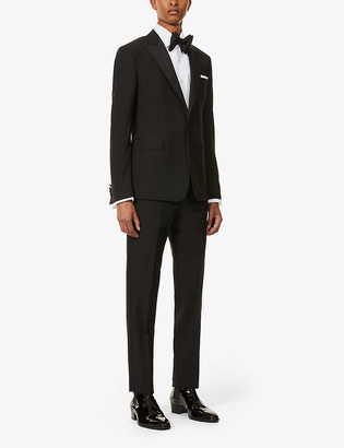 Paul Smith Slim-fit wool and mohair-blend tuxedo