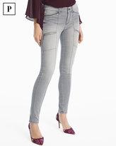 White House Black Market Petite Skinny Ankle Utility Jeans