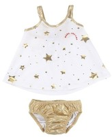 Little Marc Jacobs Infant Girl's Star Print Two-Piece Swimsuit