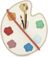 Stella McCartney Glitter paint palette cross-body bag