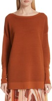 Lafayette 148 New York Wide Neck Tunic Top