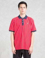 Stussy Striped Tennis Polo