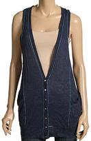 Splendid Crinkle Knit Vest