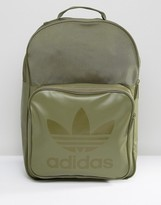 Adidas Originals Class Sport Backpack In Olive Cargo Bk6789